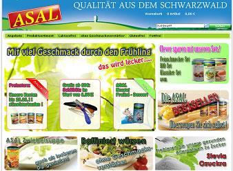 Fettarme Lebensmittel von Asal